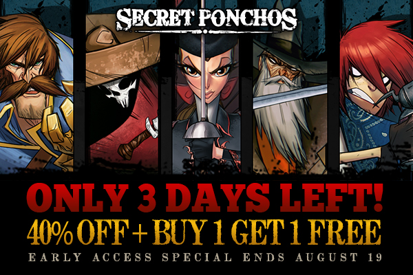 Secret Ponchos Early Access Sale